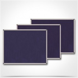 Πίνακας τσόχας 100 x 150 μεταλλικό πλαίσιο